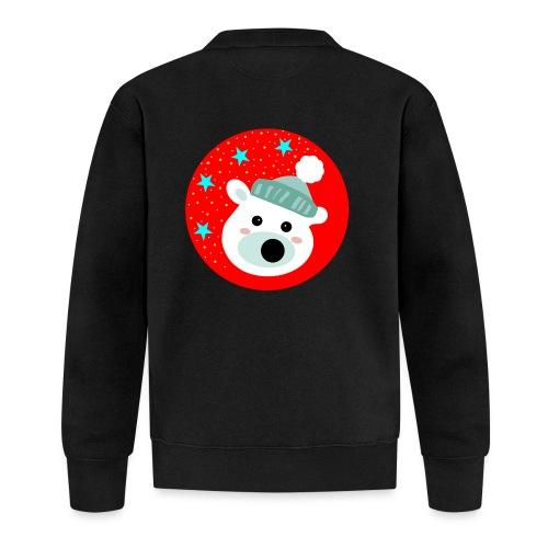 Winter bear - Unisex Baseball Jacket