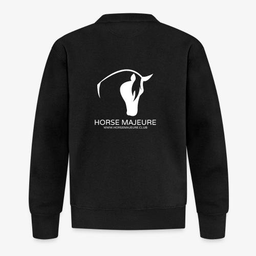 Horse Majeure Logo / Valkoinen - Unisex baseball-takki
