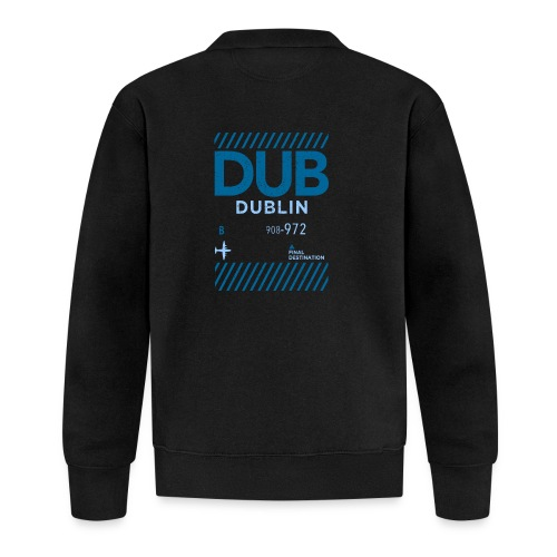 Dublin Ireland Travel - Baseball Jacket