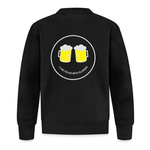 Bier Smiley – Oktoberfest – Bierzelt – Aprèski - Baseball Jacke