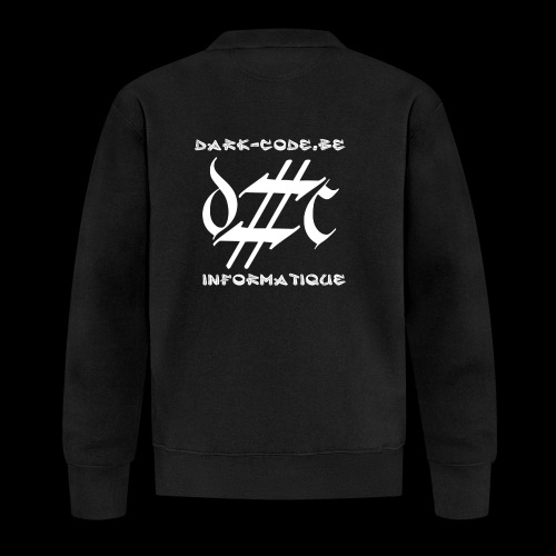 Dark-Code Gothic Logo - Veste zippée Unisexe