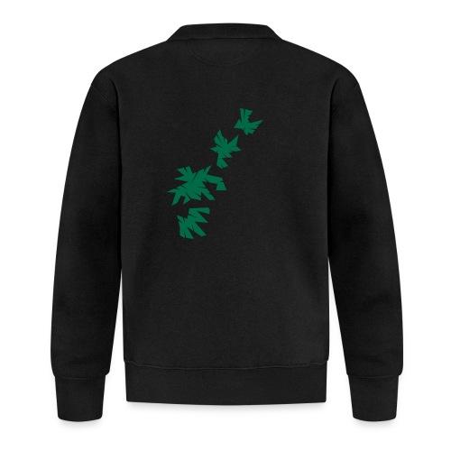 Green Leaves - Baseball Jacke