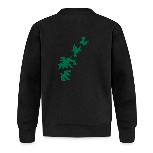 Green Leaves - Unisex Baseball Jacke