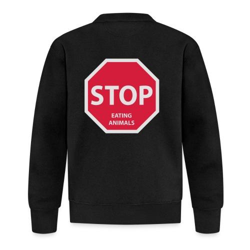 Stop-Eating-Animals - Baseball Jacke
