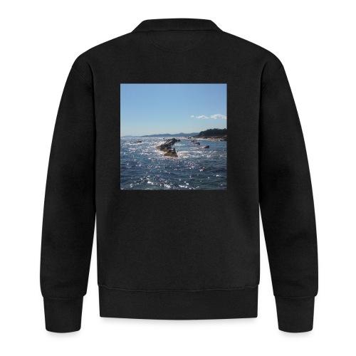 Mer avec roches - Veste zippée Unisexe