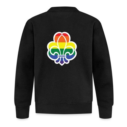 Regnbuespejder jakker og t-shirts mv - Baseballjakke