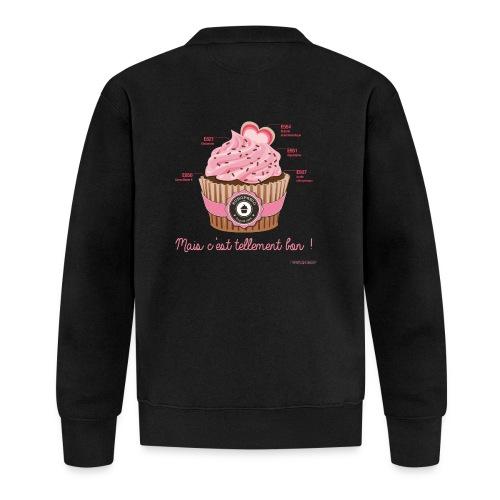 cupcake rose 2 - Veste zippée