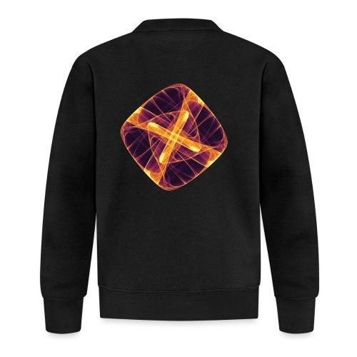 Chakra Mandala Mantra OM Chaos Star Circle 12255i - Unisex Baseball Jacket