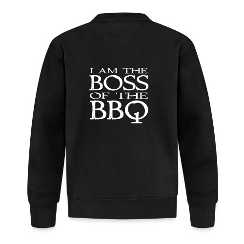 I am the Boss of the BBQ - der Chef am Grill - Unisex Baseball Jacke