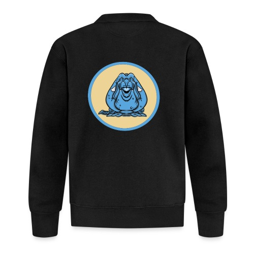 Blue Monster - Unisexbasebolljacka