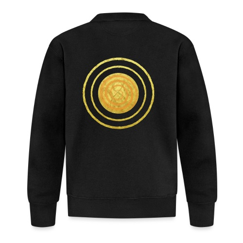 Glückssymbol Sonne - positive Schwingung - Spirale - Unisex Baseball Jacke
