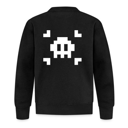 Pixel Skull - Veste zippée