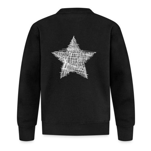 Estrella blanca - Chaqueta de béisbol