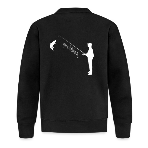 Angler gone fishing - Unisex Baseball Jacke