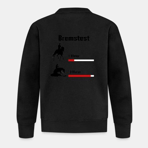 Bremstest - Baseball Jacke