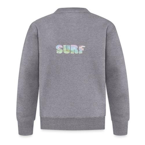 Surf summer beach T-shirt - Unisex Baseball Jacket