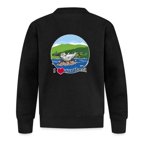 I heart Scotland - Sutherland & Caithness - Baseball Jacket