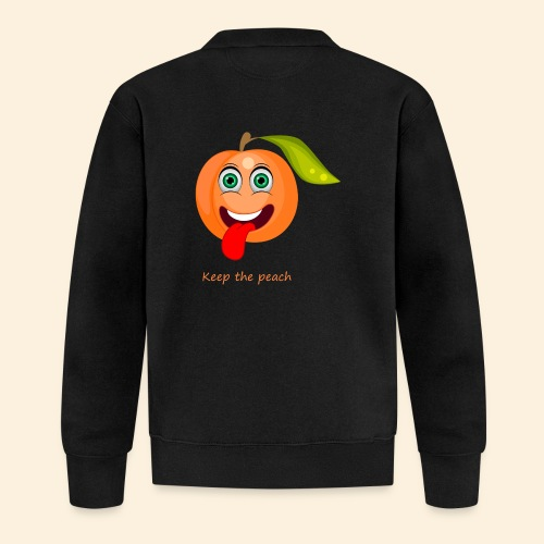 Whoua keep the peach - Veste zippée Unisexe