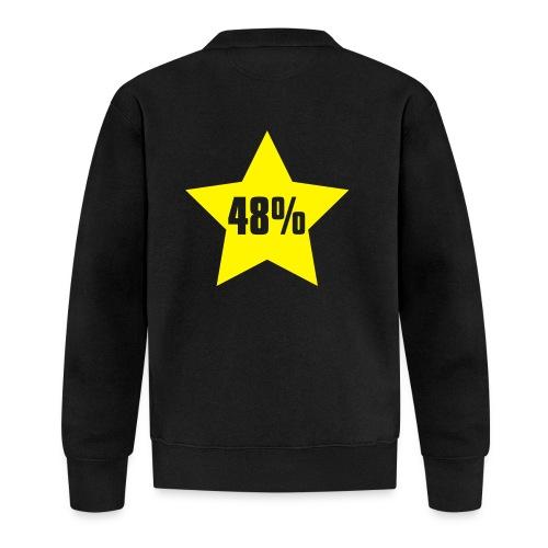 48% in Star - Unisex Baseball Jacket