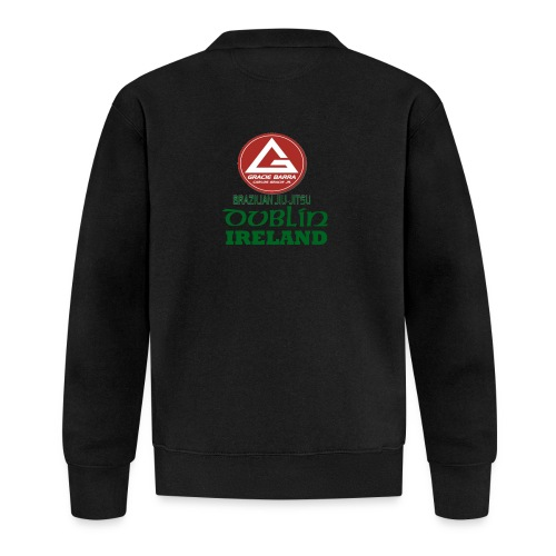 Gracie Barra Dublin Gaelic Celtic Font PNG - Baseball Jacket