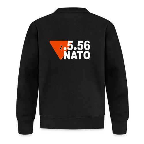 .5.56 NATO BLANC - Veste zippée Unisexe