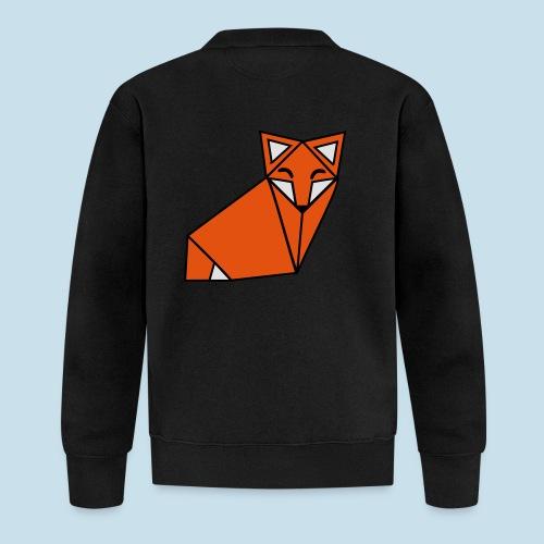 Fuchs geometrisch - Baseball Jacke