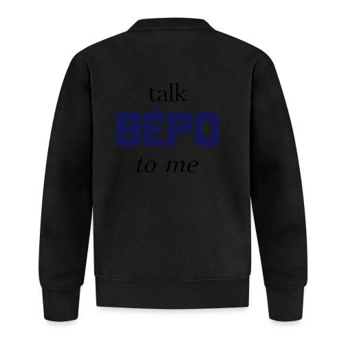 talk bépo new - Veste zippée