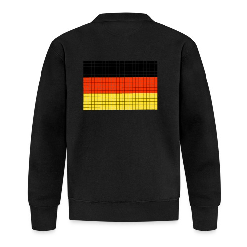 german flag.png - Felpa da baseball unisex