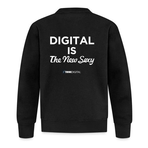 Digital is the New Sexy - Felpa da baseball