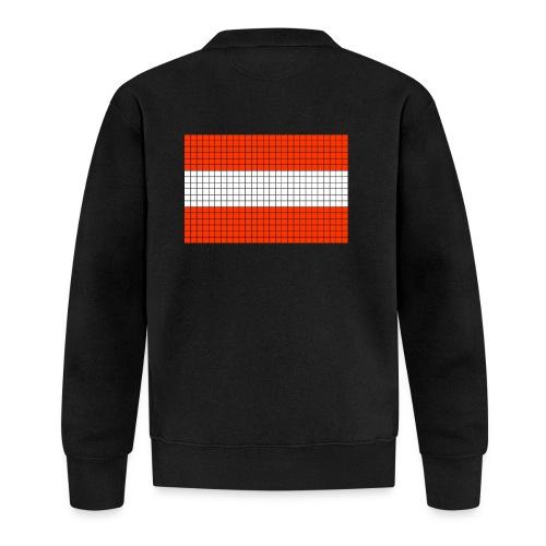 austrian flag - Felpa da baseball unisex