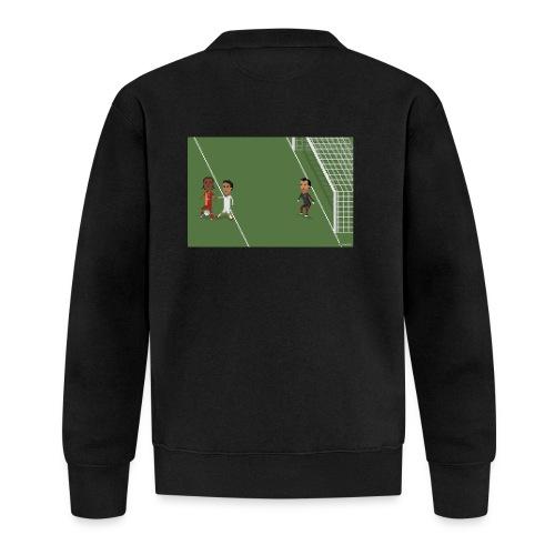 Backheel goal BG - Unisex Baseball Jacket