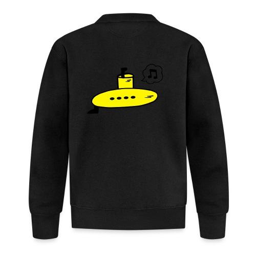 Singing Yellow Submarine - Baseball Jacket