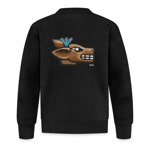 Aztec Icon Deer - Baseball Jacket
