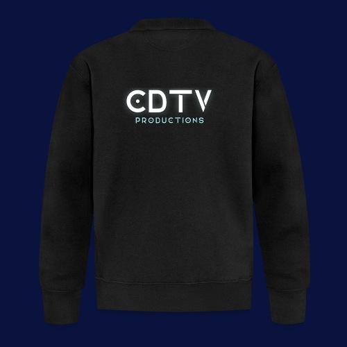 Full CDTVProductions Logo - Unisex Baseball Jacket