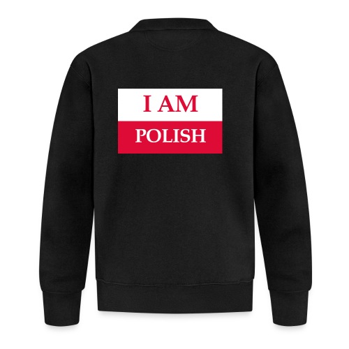 I am polish - Kurtka bejsbolowa