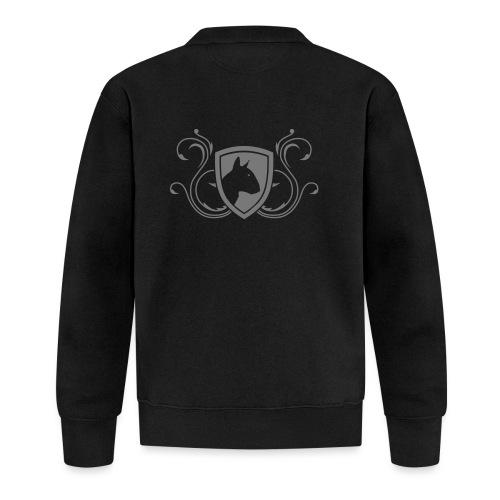 Bullterrier Wappen 1c - Baseball Jacke