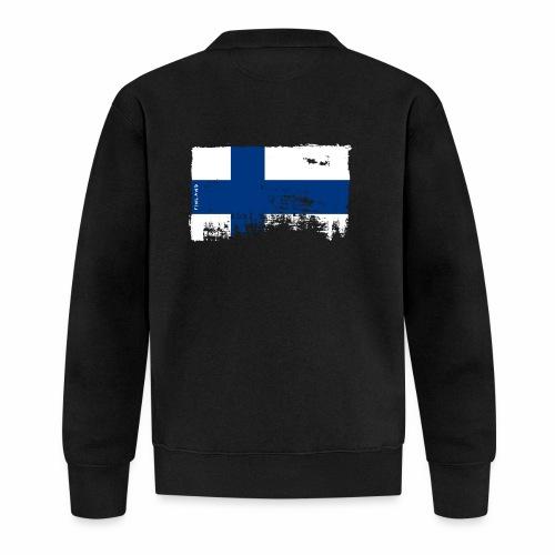 Suomen lippu, Finnish flag T-shirts 151 Products - Baseball-takki