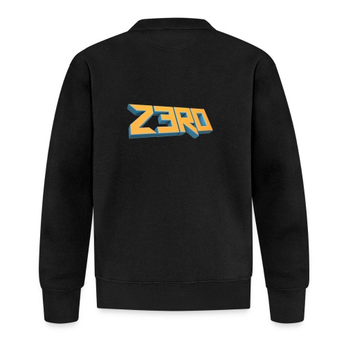 The Z3R0 Shirt - Baseball Jacket