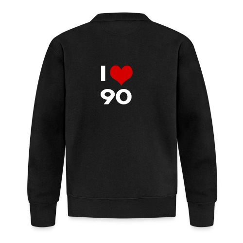 I love 90 - Felpa da baseball