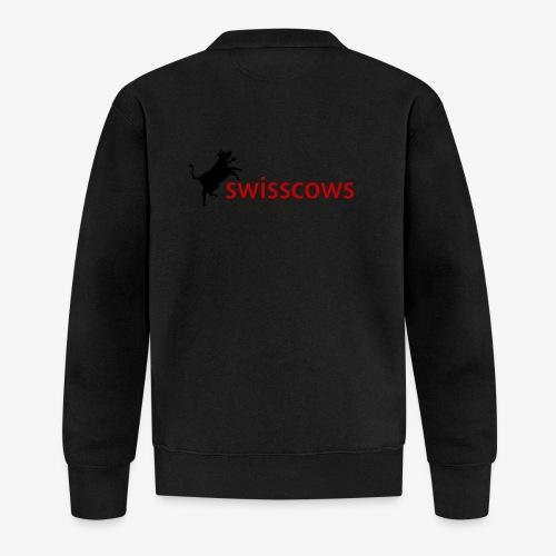 Swisscows Logo - Baseball Jacke