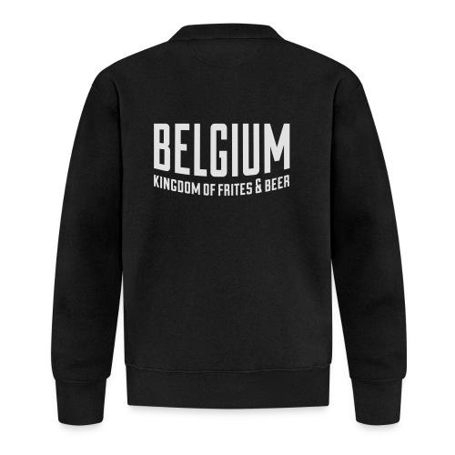 Belgium kingdom of frites & beer - Veste zippée Unisexe