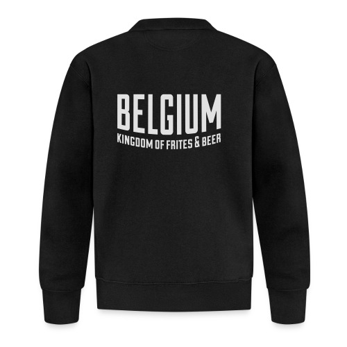 Belgium kingdom of frites & beer - Veste zippée