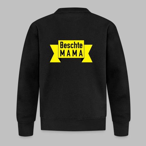 Beschte Mama - Auf Spruchband - Unisex Baseball Jacke