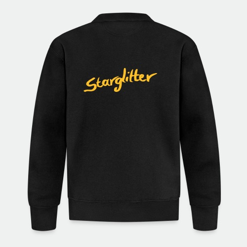 Starglitter - Lettering - Baseball Jacket