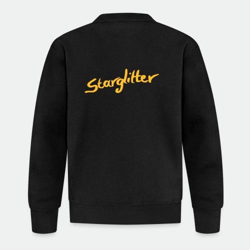 Starglitter - Lettering - Unisex Baseball Jacket