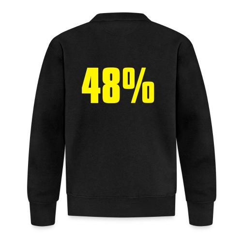 48% - Unisex Baseball Jacket