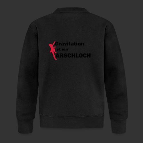 Gravitation Arschloch - Unisex Baseball Jacke