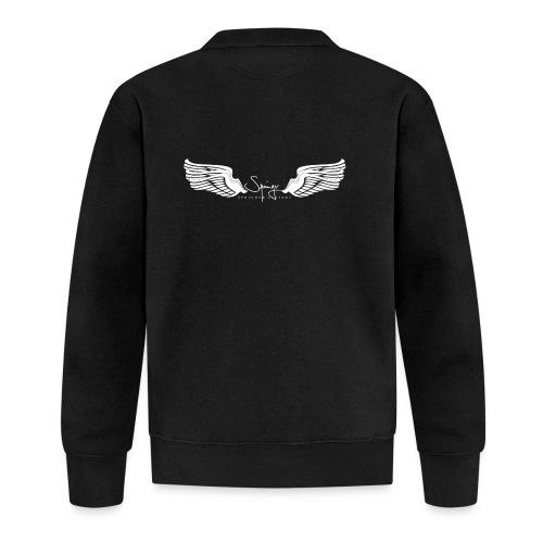 Seraph Wings white - Veste zippée