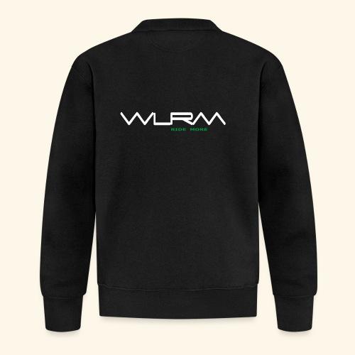 WLRM Schriftzug white png - Unisex Baseball Jacke