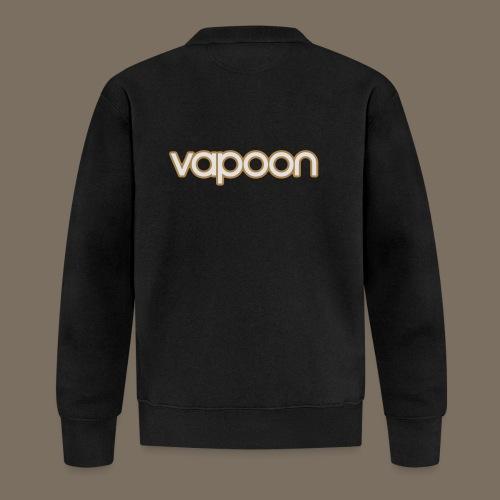 Vapoon Logo simpel 2 Farb - Unisex Baseball Jacke